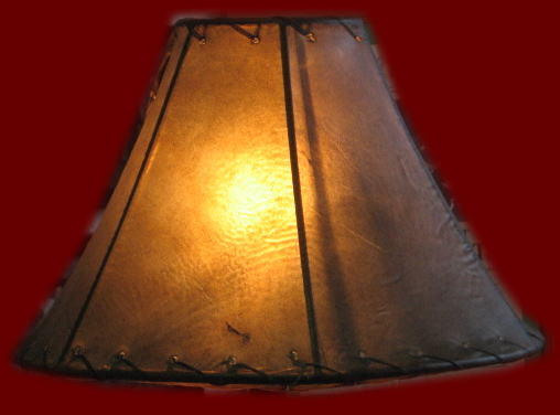 Rawhide lamp shades click to enlarge aloadofball Images