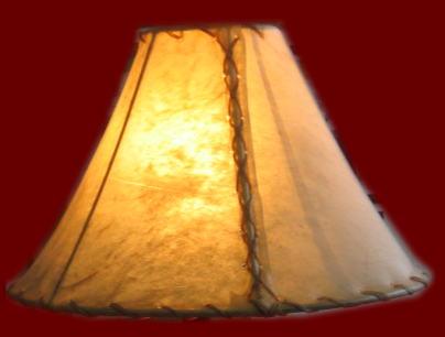 Rawhide lamp shades mozeypictures Choice Image